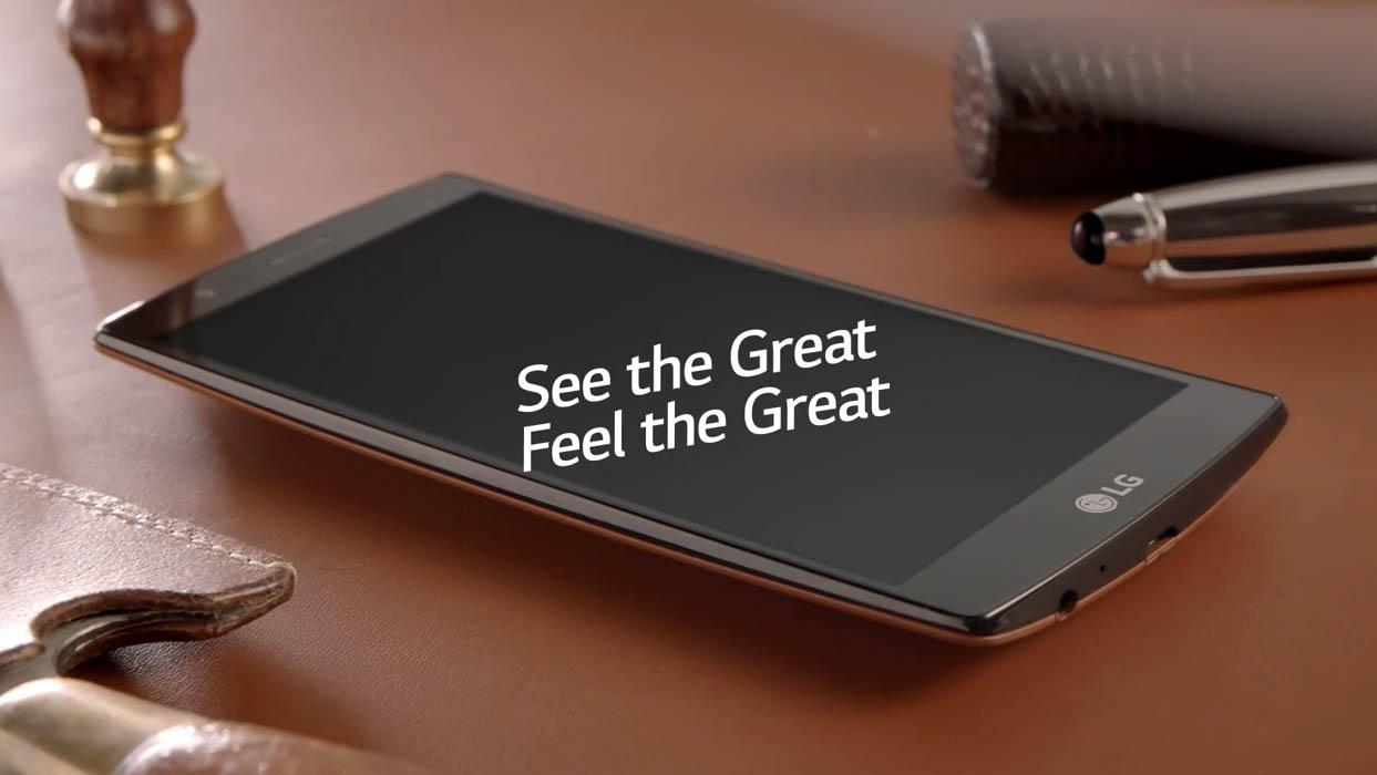 Thiết kế màn hình cong cực độc trên LG G4