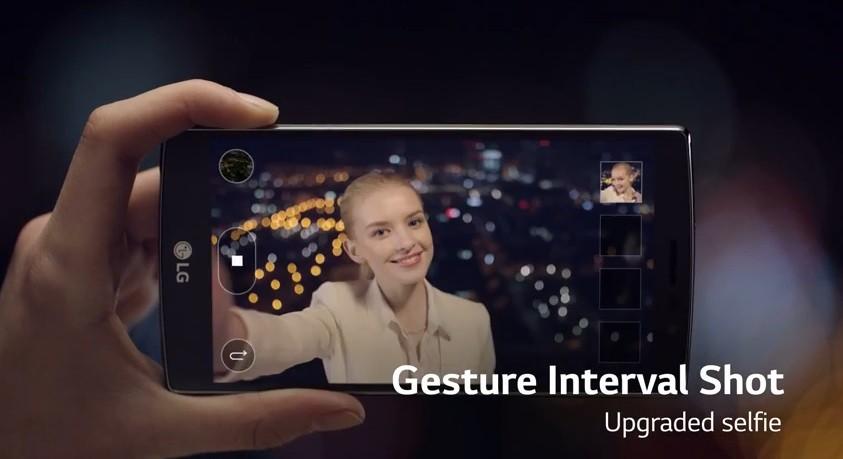Camera trước LG G4 - Selfie